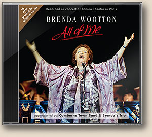 Brenda Wootton new CD 'All of Me'